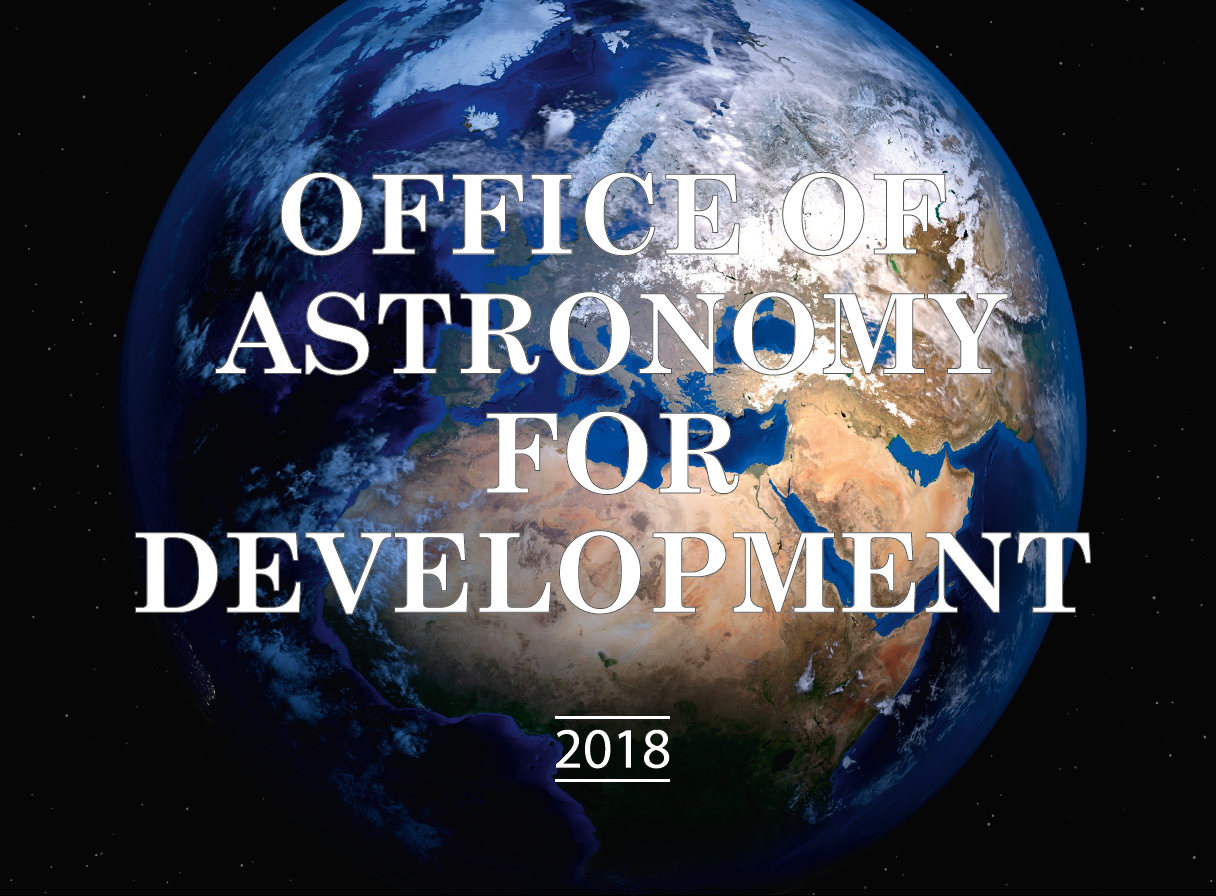 IAU Office of Astronomy for Development – Astronomy for a better world!