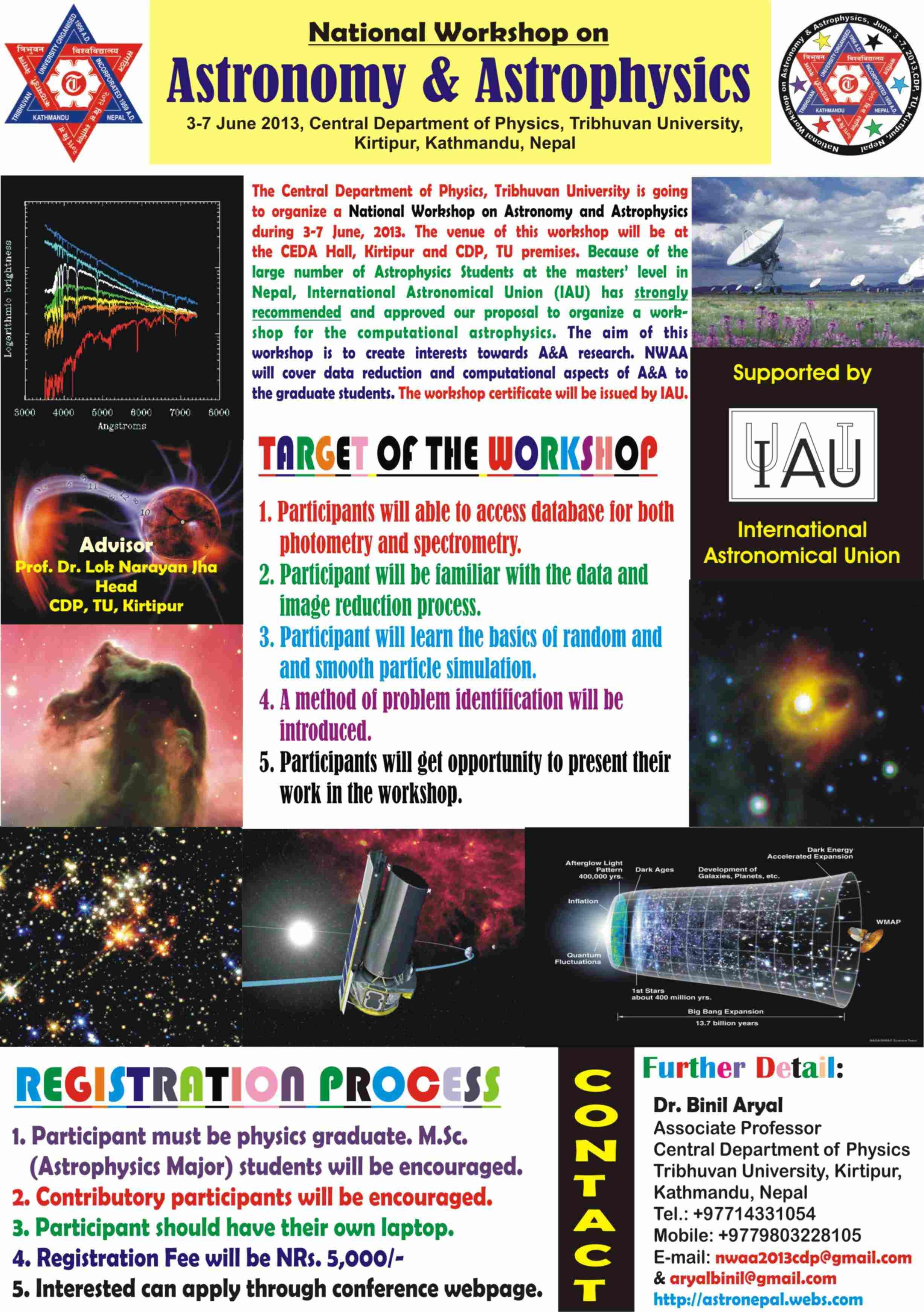 National Workshop on Astronomy & Astrophysics in Kathmandu