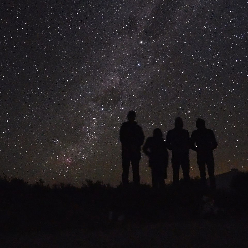 Night sky over Sutherland, South Africa