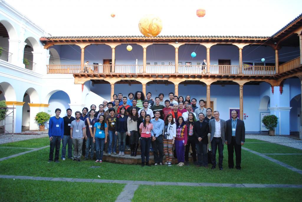 Guatemalan School of Astrophysics. credits - GUASA 2015
