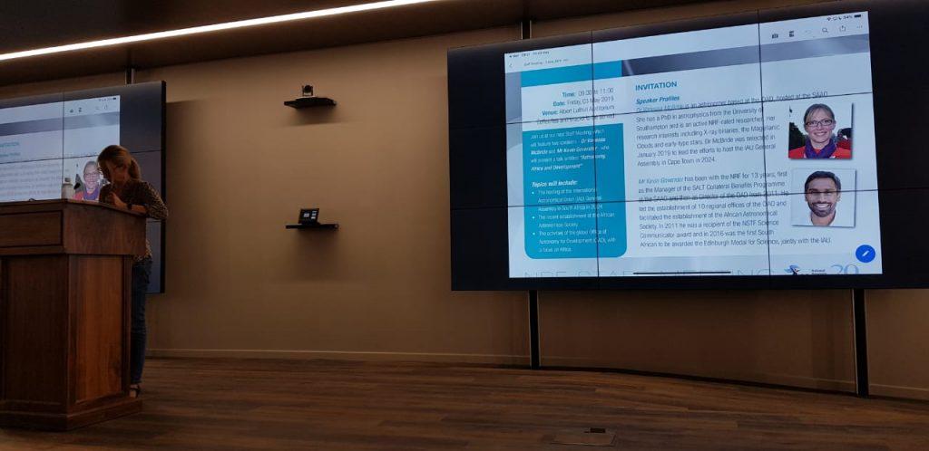 presentation at NRF 2019