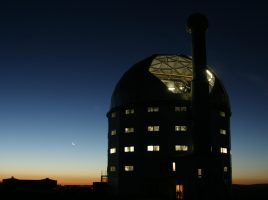 The Southern African Large Telescope (SALT) telescope in Sutherland, South Africa