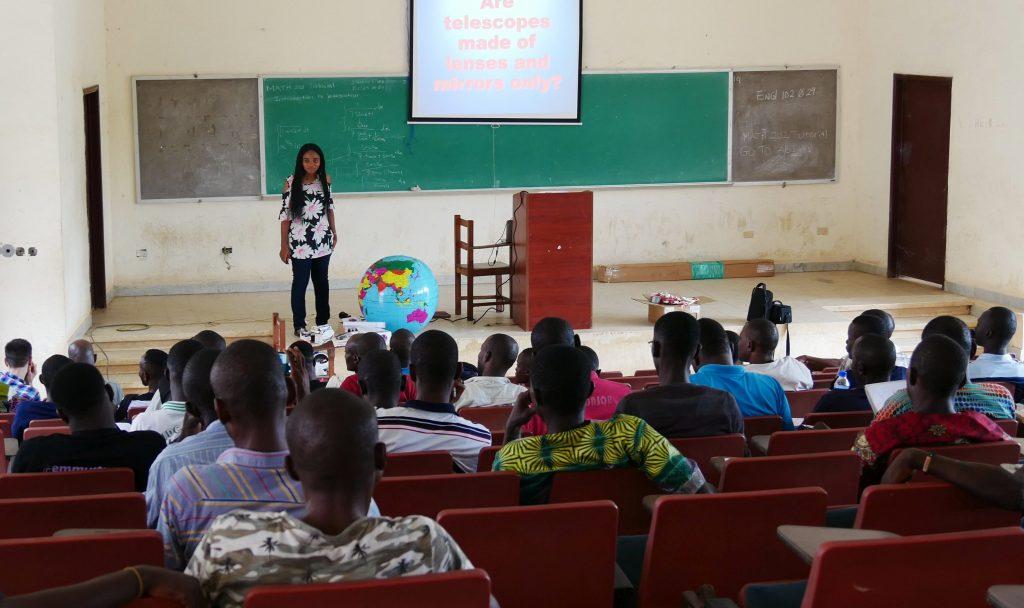 teachers workshop in Liberia, 2019